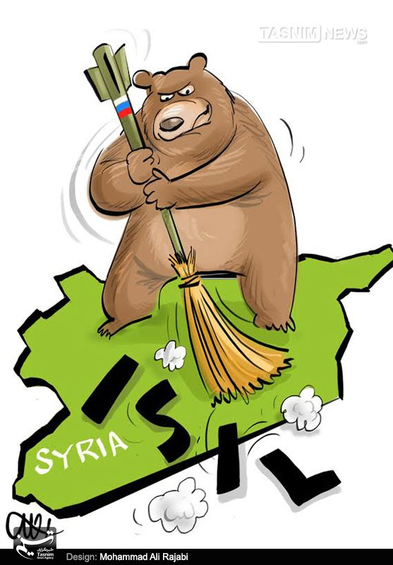 Slap in the face Russia in the ISIS
