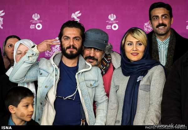 حواشی و تصاویر بازیگران در جشنواره فیلم فجر 94