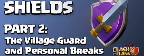 گارد محافظ در کلش آف کلنز  Village Guard