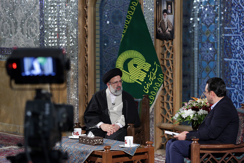 برنامه زنده تلویزیونی نگاه یک از شبکه یک سیما با حضور تولیت آستان قدس رضوی