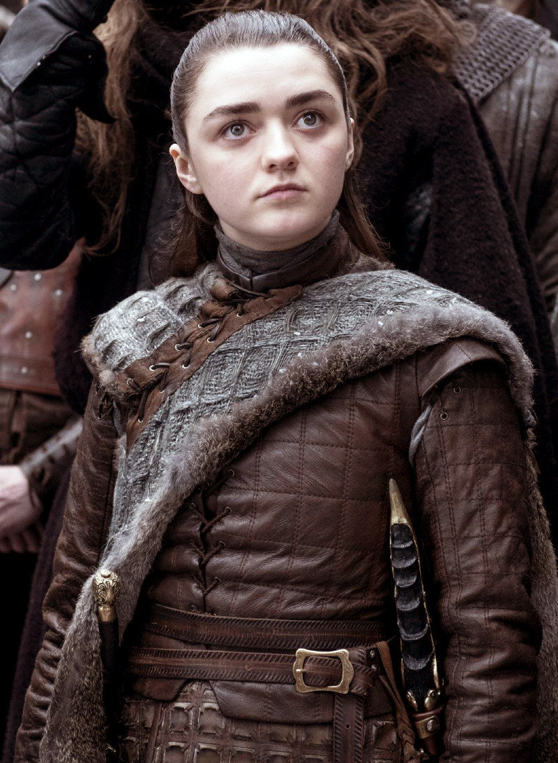 آریا استارک Arya Stark (Maisie Williams)