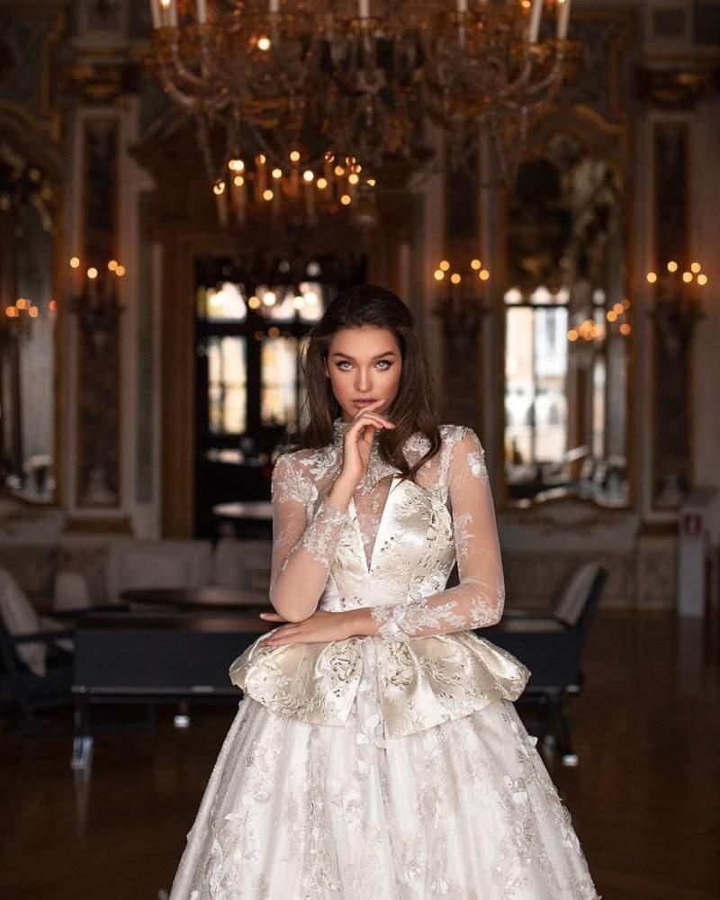 جذاب ترین لباس عروس ژورنالی 2019