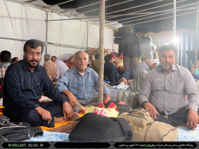 کاروان پیاده روی اربعین حسینی بردخون