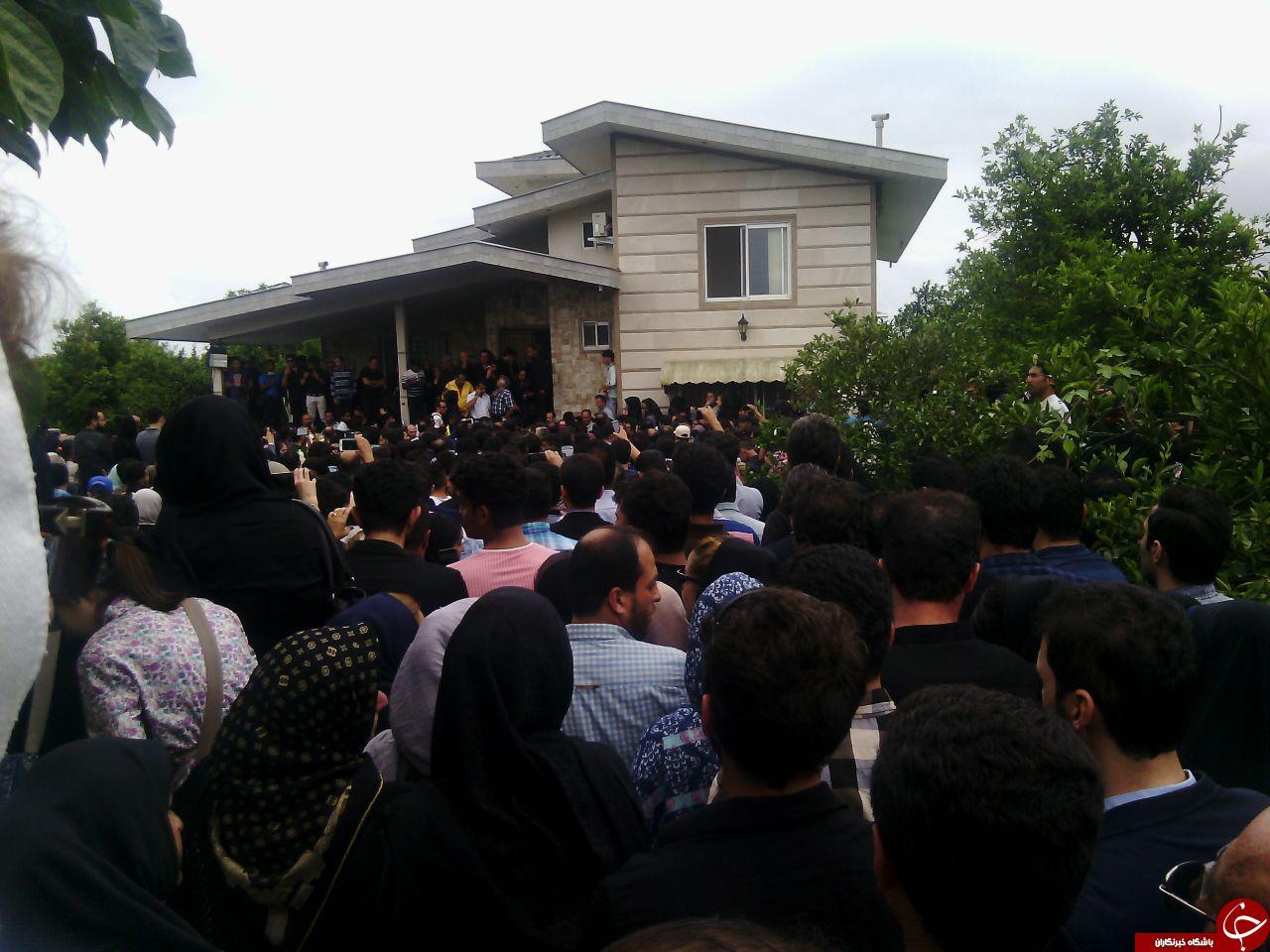 عکس های مراسم خاکسپاری حبیب خواننده