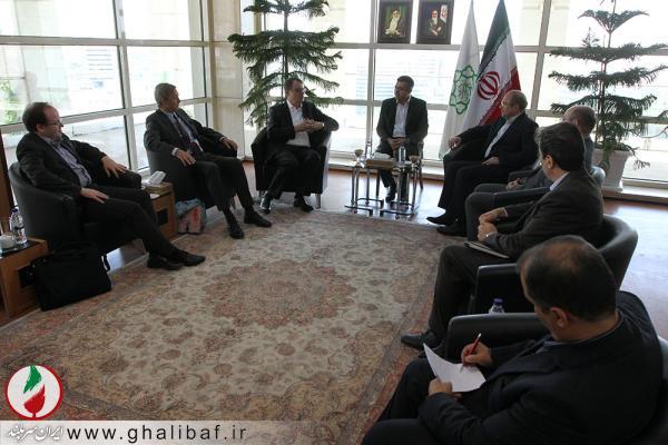 دیدار شهردار تهران با هیات آلمانی