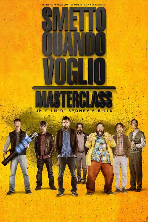 دانلود فیلم Smetto quando voglio Masterclass 2017