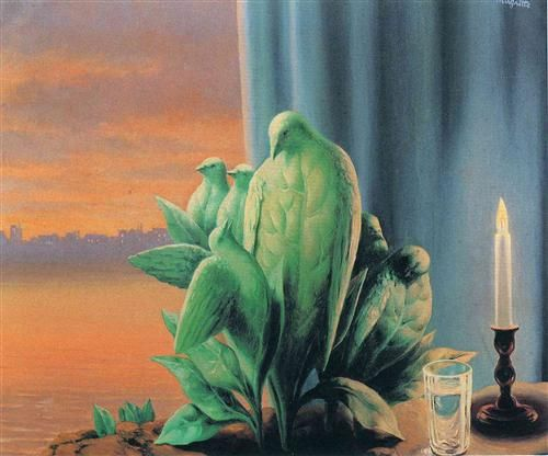 Rene Magritte | Night of Love