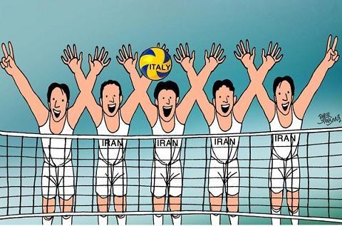 انشا در مورد تیم والیبال کلاس ما