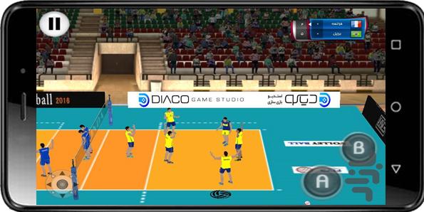 والیبال مدرن ModernVolleyball MVB وب سایت رسمی بازی