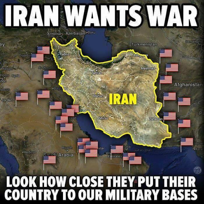 ایران و آمریکای جنایتکار خونخوار