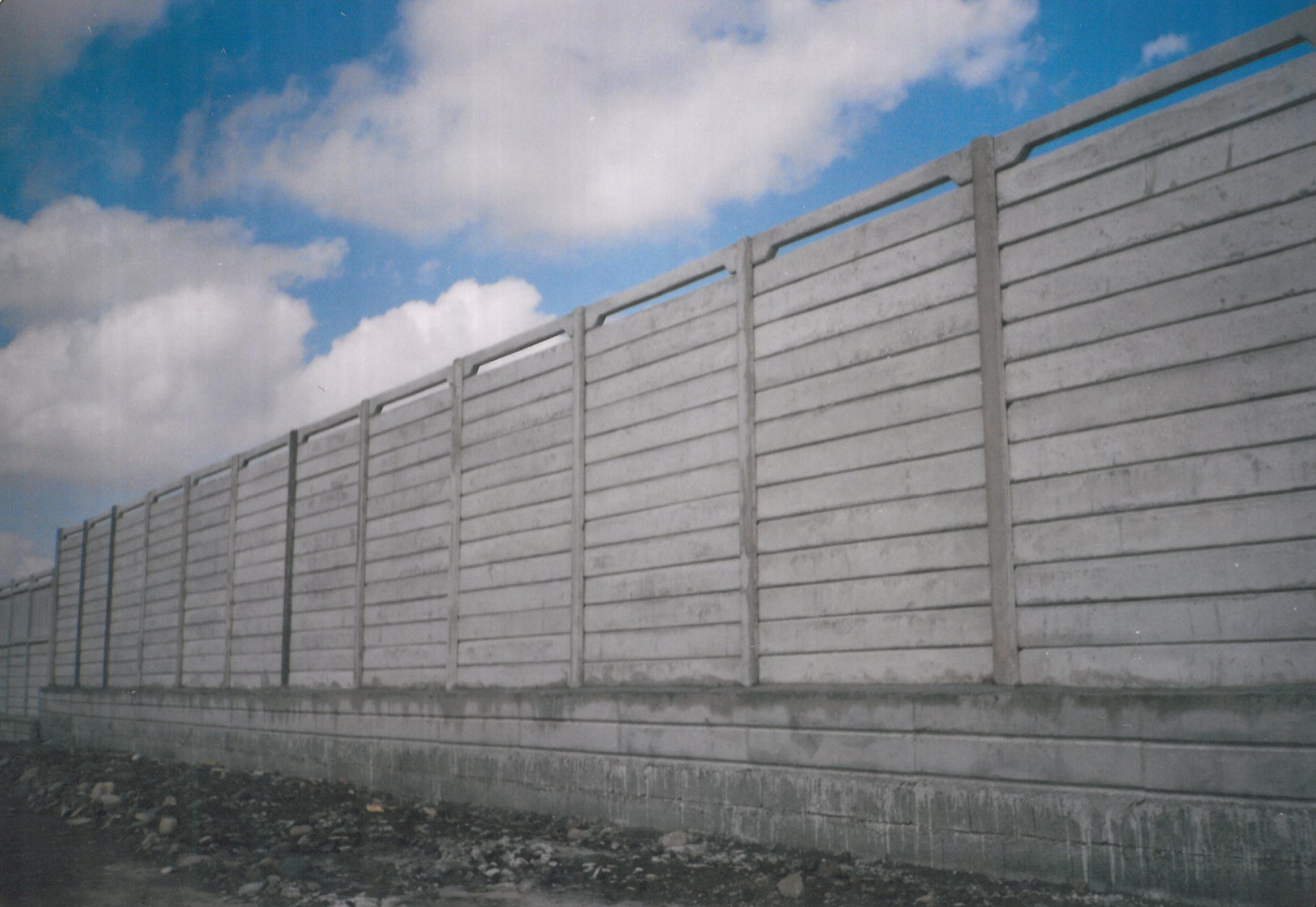 تصاویر نمونه کارهای اجرایی دیوار پیش ساخته شرکت درو بتن شمال ...دانشکده پرستاری لنگرود