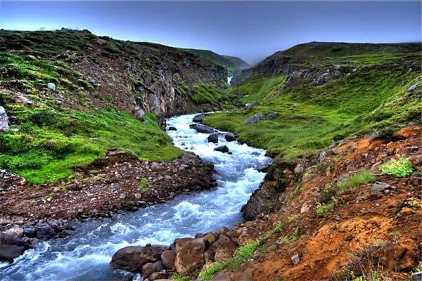 انشا گذر از رودخانه