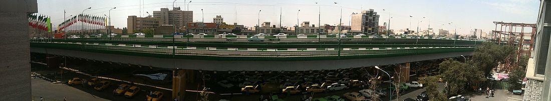 توضیحی مختصر درباره پل سیدخندان تهران