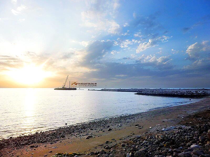 ساحل اسکله خورخان بردخون