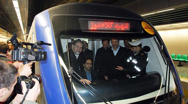افتتاح دو ایستگاه جدید از خط ٤ مترو تهران
