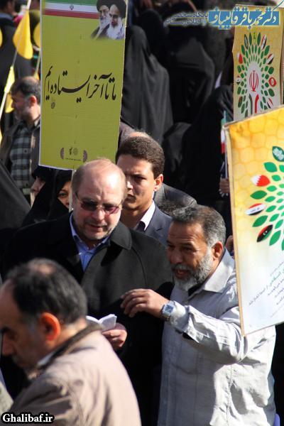 حضور در راهپیمایی یوم الله ۲۲ بهمن