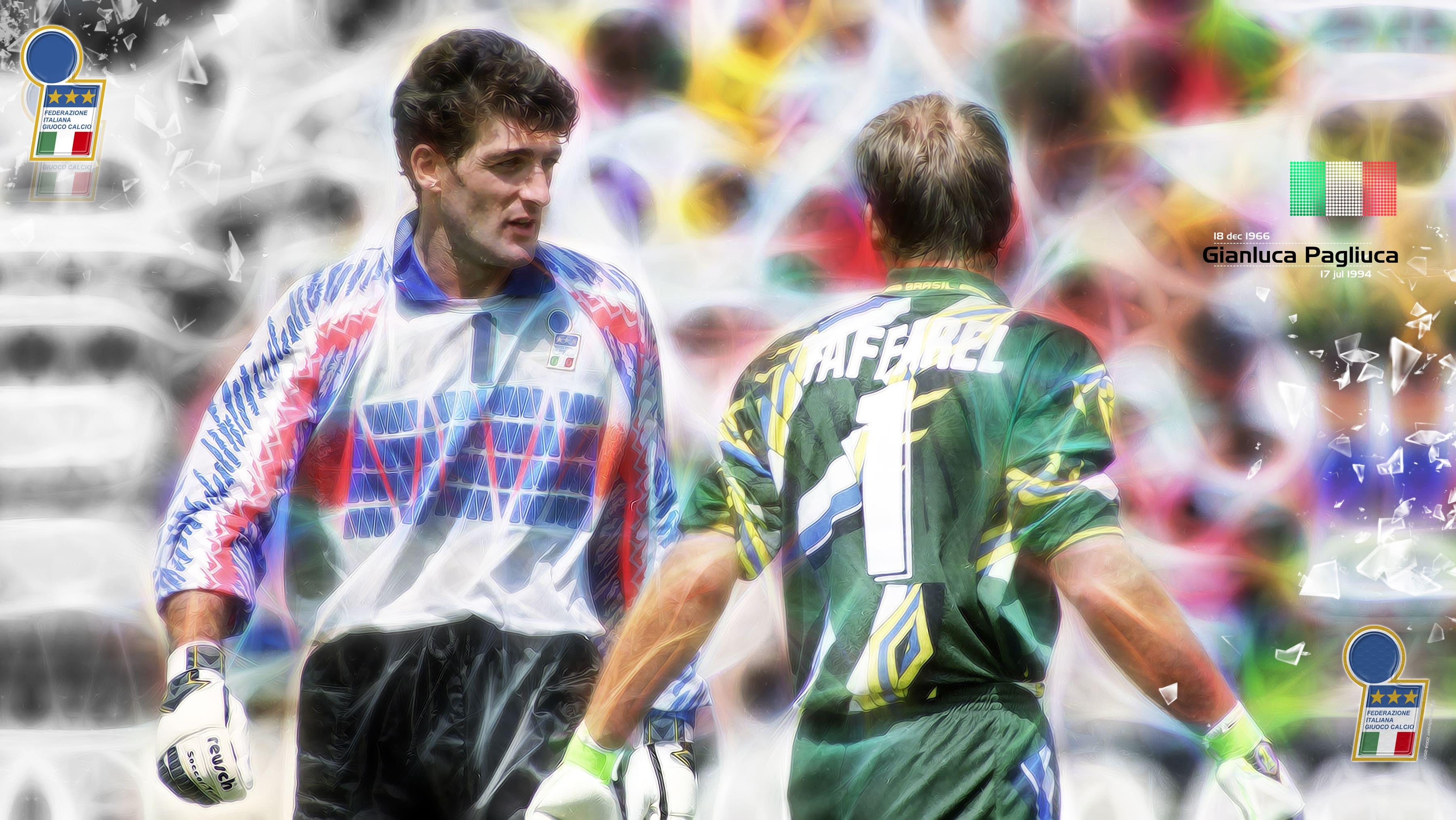 والپیپر جان لوکا پالیوکا سنگربان ایتالیا در جام جهانی 1994