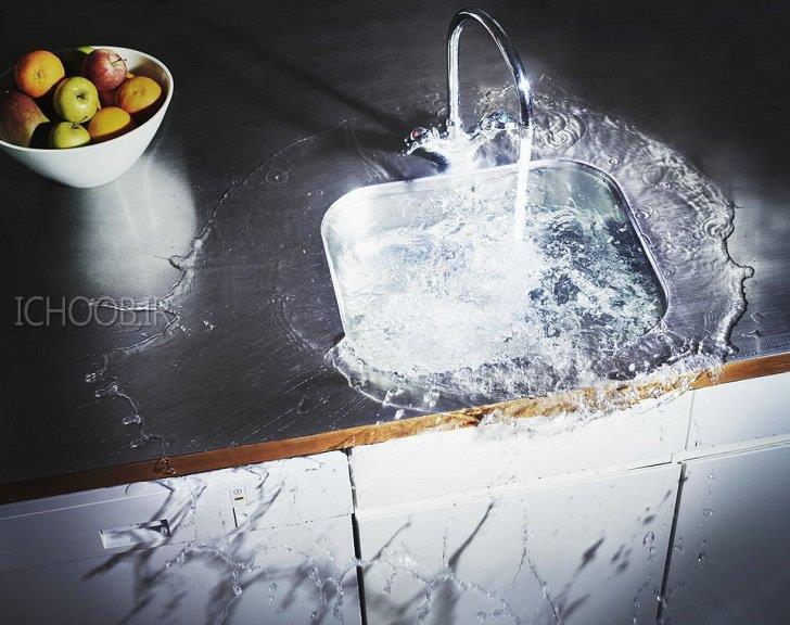 گرفتن سینک ظرفشویی