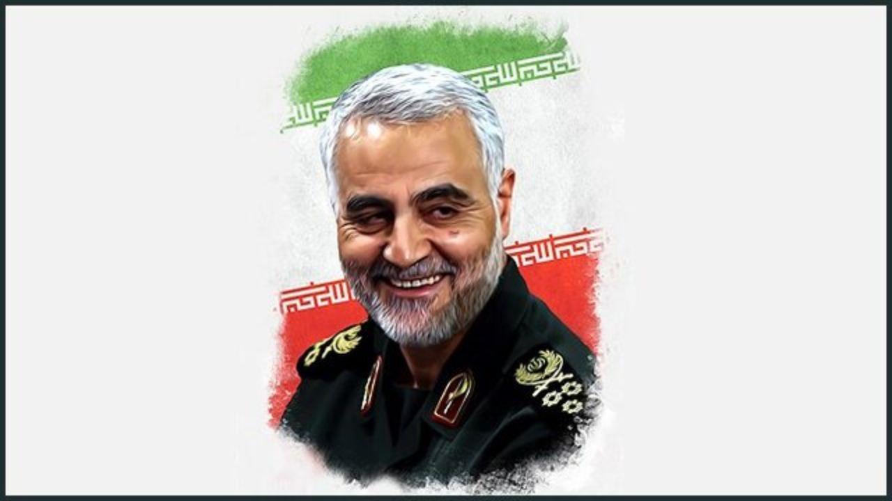 عکس برای پروفایل روز چهلم شهید سلیمانی