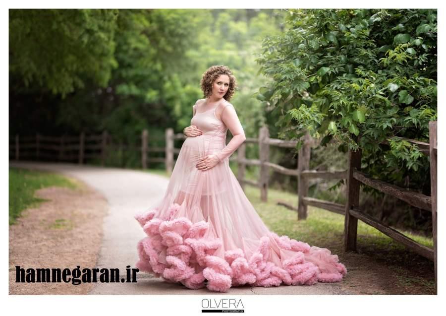 عکس متفاوت زمان بارداری