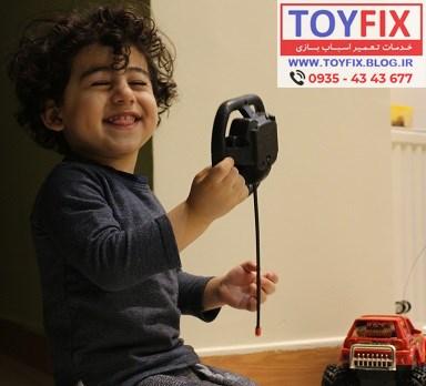 افزایش عمر اسباب بازی و کم کرد نیاز اسباب بازی به تعمیر