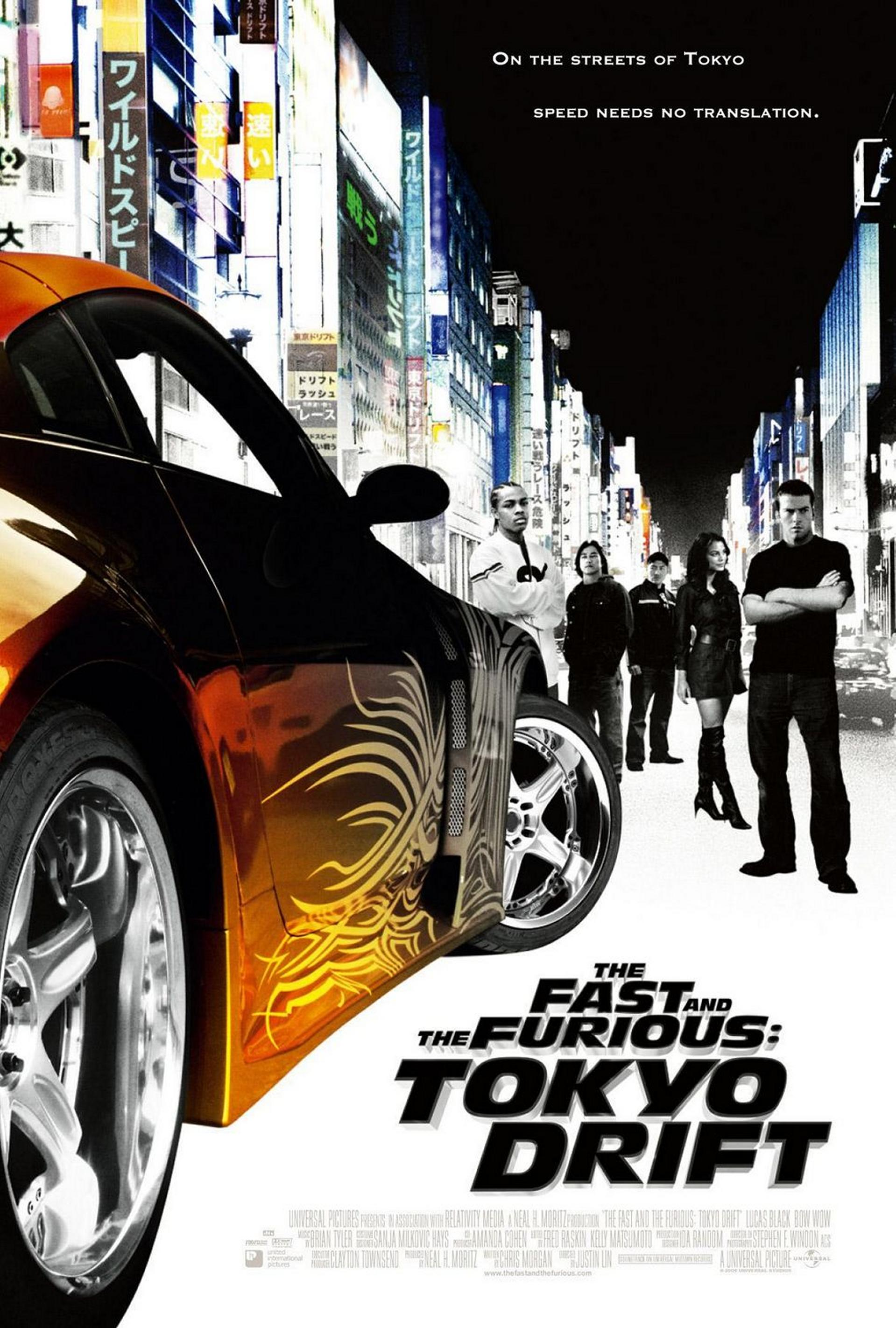 دانلود فیلم The Fast and the Furious: Tokyo Drift 2006