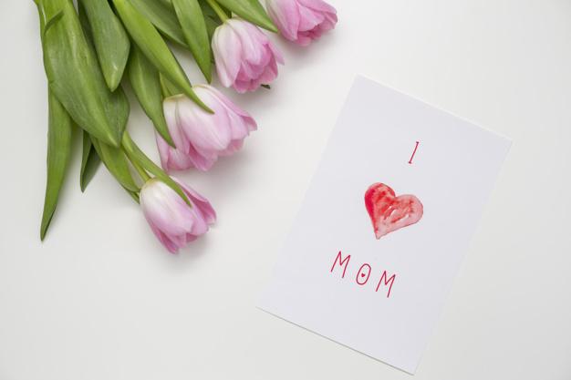 شیک ترین عکس نوشته تبریک روز مادر i love you mom