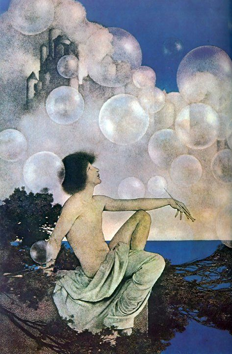 Air Castles by Maxfield Parrish