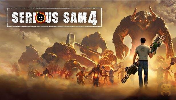 دانلود کرک بازی Serious Sam 4