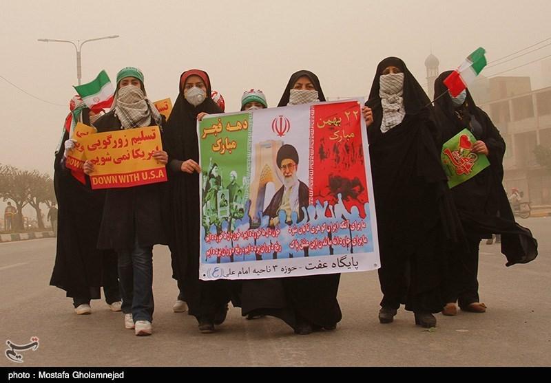راهپیمایی یوم الله 22 بهمن - اهواز