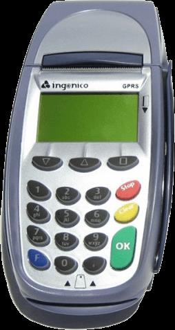کارتخوان بیسیم Ingenico 7910