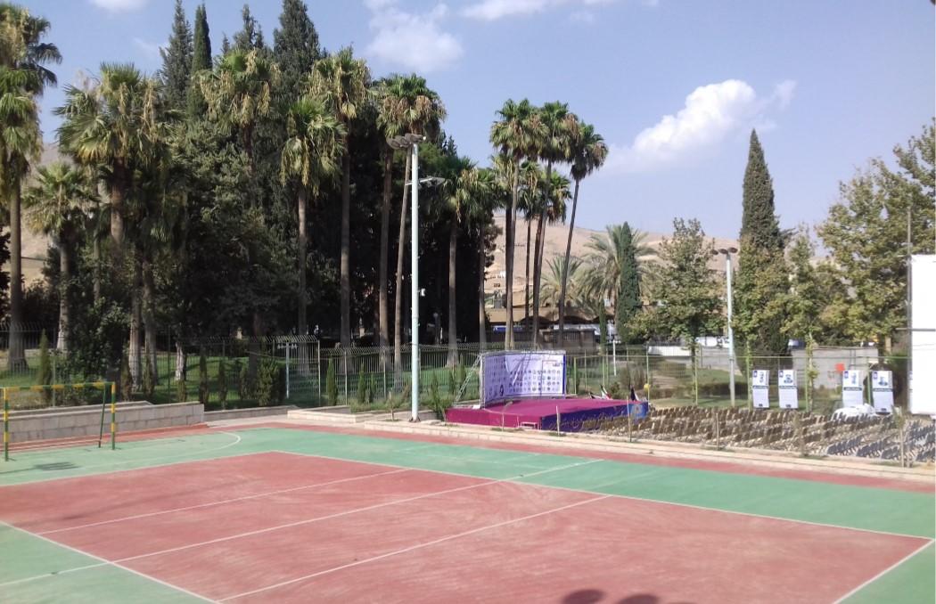 زمین ورزش دانشگاه شیراز