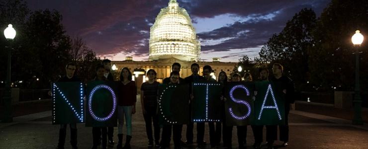 نه به لایحهی CISA : معاملهای کثیف بین دولتها وشرکتهای غولپیکر