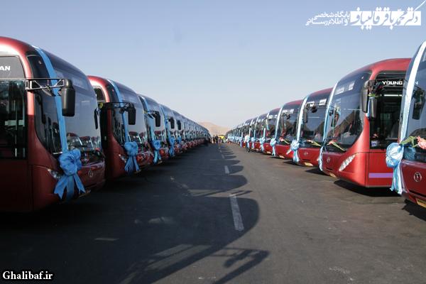 آغاز به کار نخستین بخش از اتوبوسهای تندرو