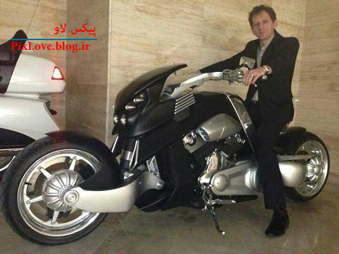 عکس: موتور دو میلیاردی بابک زنجانی