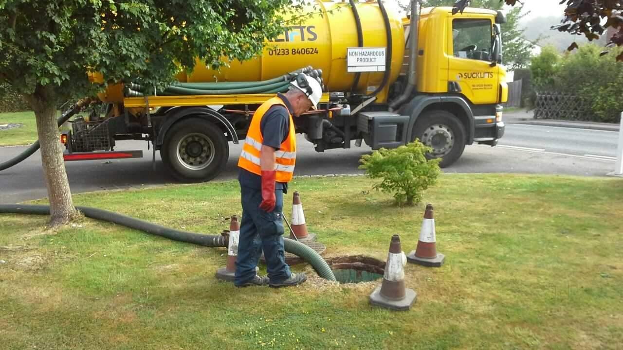تجهیزات مخصوص تخلیه چاه با دستگاه