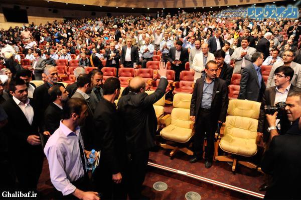 مراسم تجلیل از کارگران نمونه شهرداری تهران