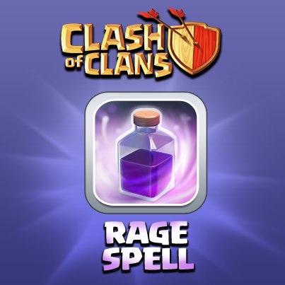 استراتژی استفاده از طلسم خشم (Rage spell)