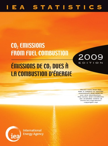 Co2 Emissions from Fuel Combustion 1971-2007 (French Edition)