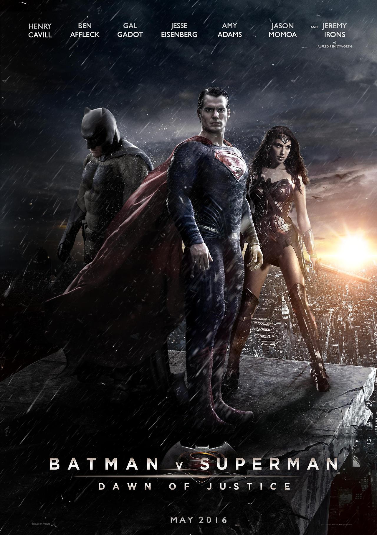 دانلود فیلم Batman v Superman: Dawn of Justice 2016