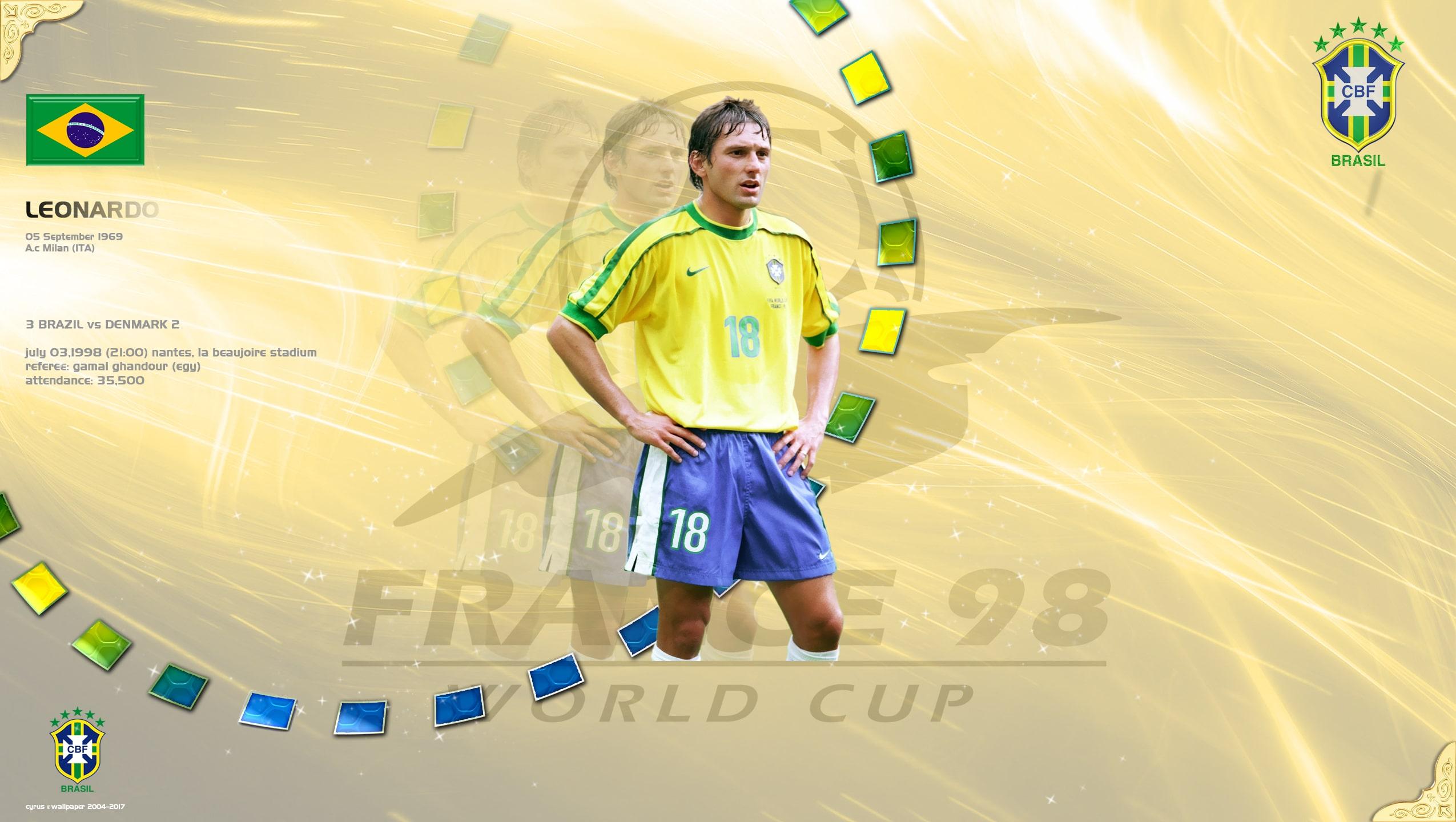 والپیپر لئوناردو در جام جهانی 1998