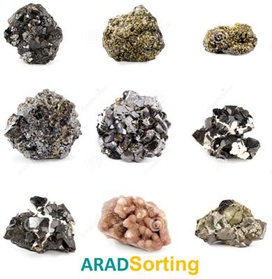 mineral sorting / stone colod sorter