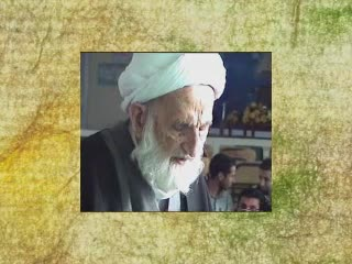 نماز مرحوم آیت الله خزعلی در دانشکده تربیت مدرس قرآن مشهد