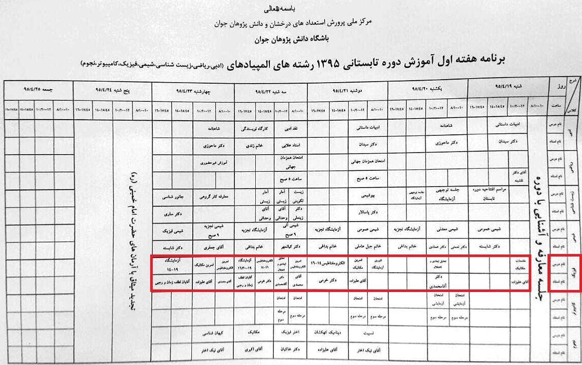 مرجع المپیاد فیزیک ایران
