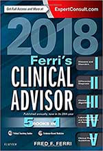Ferri's Clinical Advisor 2018 5 Books in
