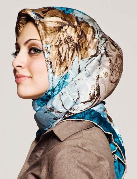 مدل روسری لبنانی