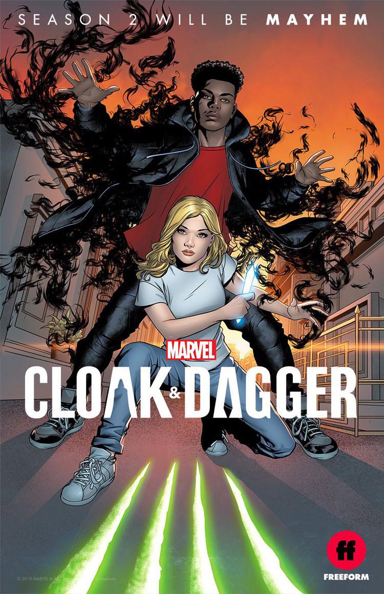 دانلود فصل دوم سریال Cloak and Dagger با لینک مستقیم و زیرنویس فارسی