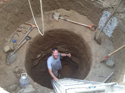 حفر چاه جدید توسط مقنی