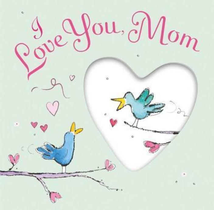 عکس نوشته i love you mom