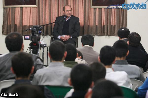 گزارش تصویری دیدار با جمعی از دانش آموزان دبیرستان علوم و معارف اسلامی شهید مطهری